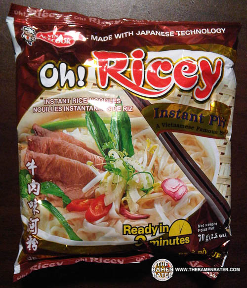 277 vina acecook oh ricey instant phở bò rice noodles soup beef