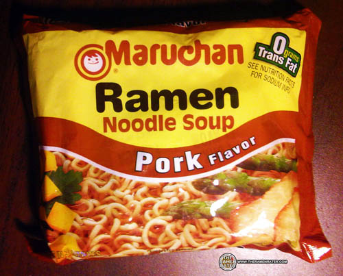 Re-Review: Maruchan Ramen Noodle Soup Pork Flavor - The