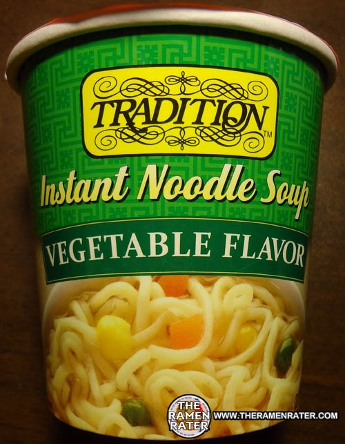 905 Tradition Vegetable Flavor Instant Noodle Soup The