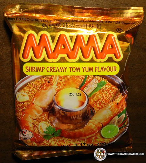 Re-Review: MAMA Shrimp Creamy Tom Yum Flavour Oriental Style Instant ...
