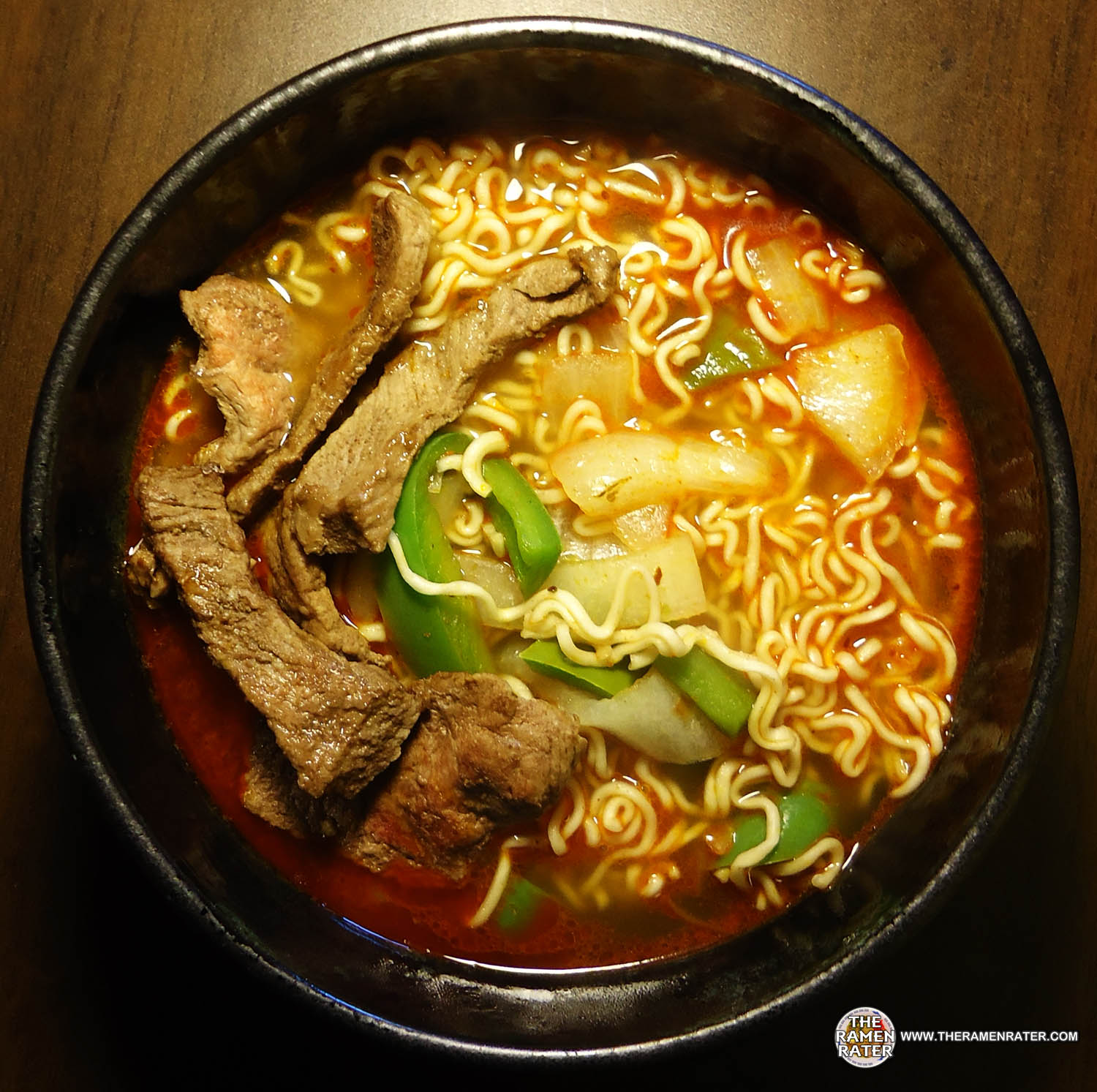 1010 golden wheat korean style spicy beef noodle soup