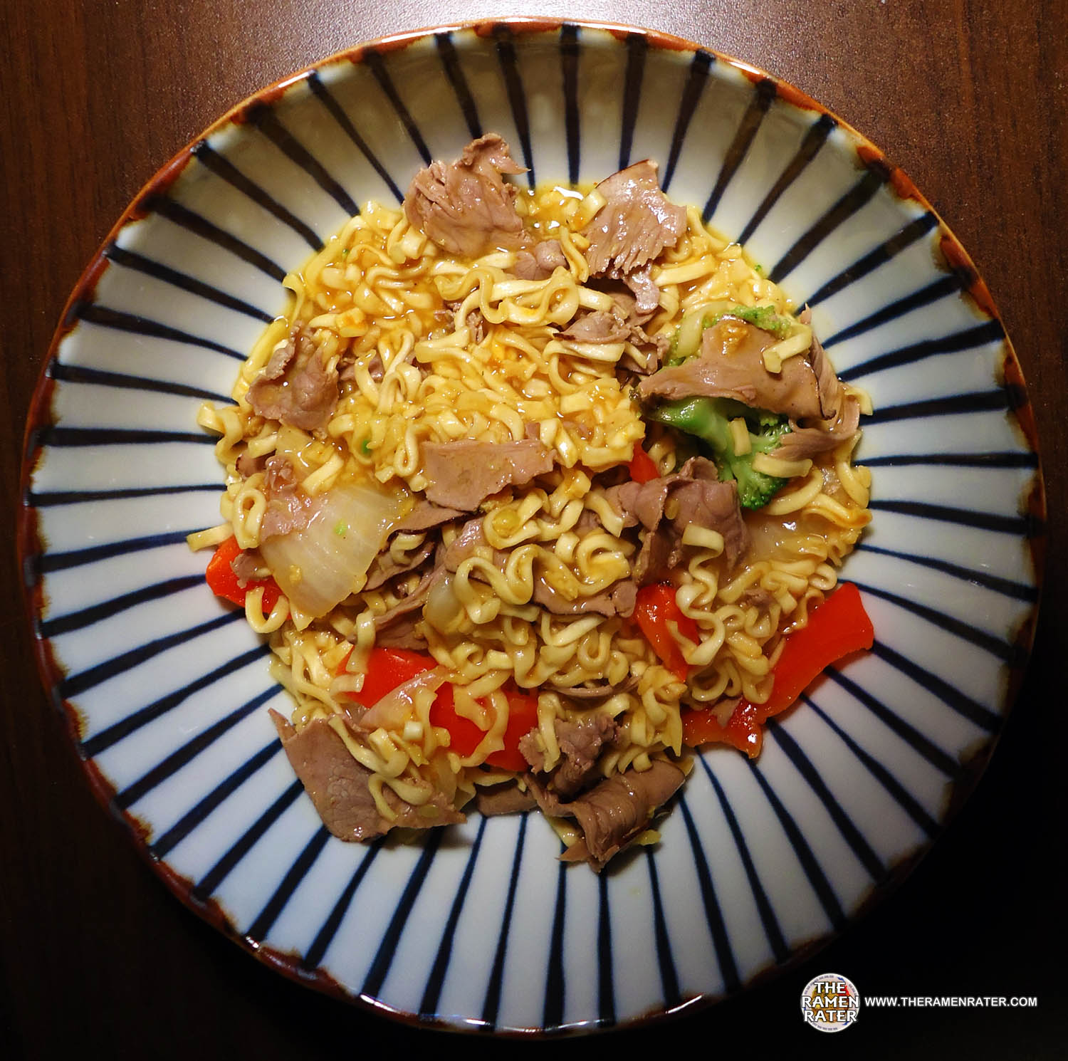 1132 Tesco Everyday Value Spicy Curry Flavour Noodles The