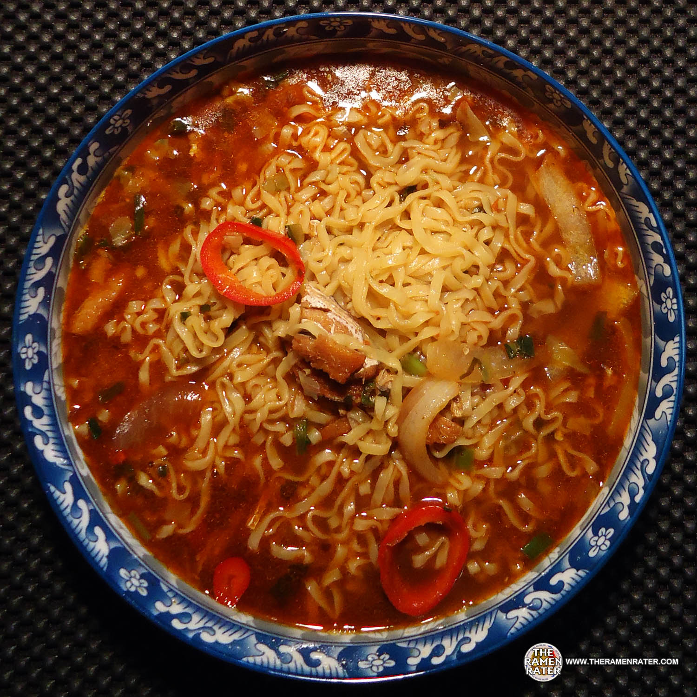 1166: Unif Man Han Feast Sichuan Chili Eel Flavor Instant Noodle ...