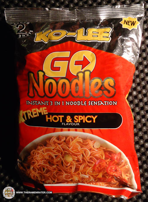 #1182: Ko-Lee Go Noodles Xtreme Hot & Spicy Flavour - The Ramen Rater