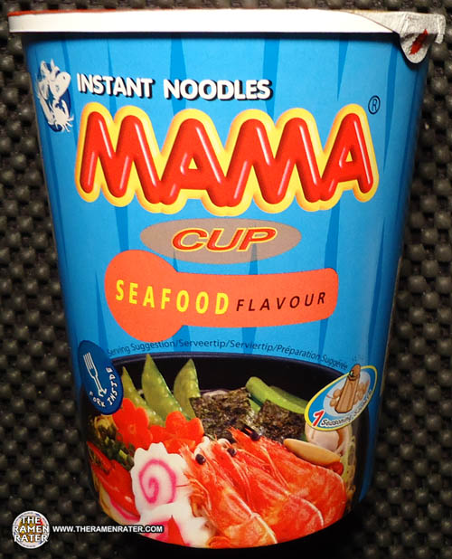 #1320: mama instant noodles cup seafood flavour - the