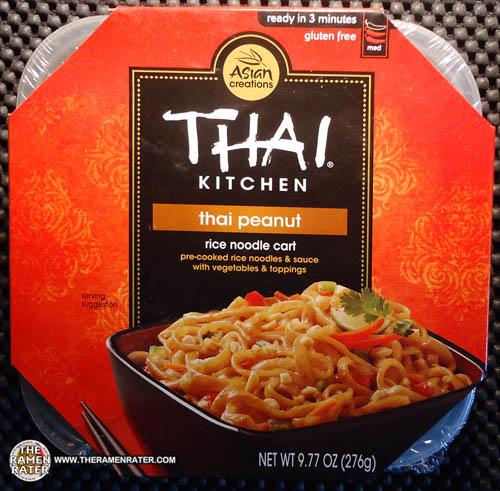 1310 Thai Kitchen Rice Noodle Cart Thai Peanut The Ramen Rater