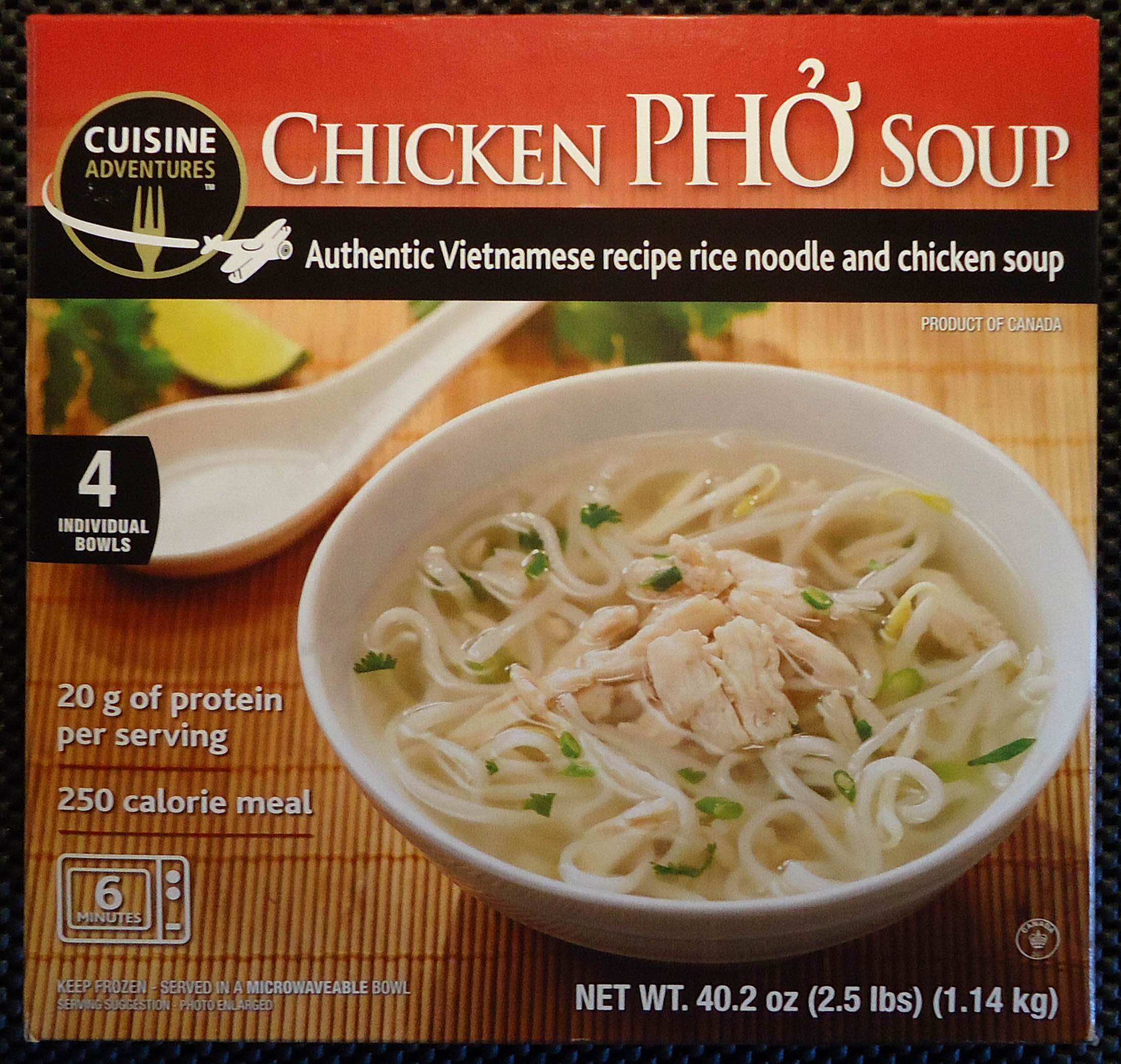 world noodle pho #1341: Manufacturer: Adventures Soup Cuisine Meet The Phở Chicken
