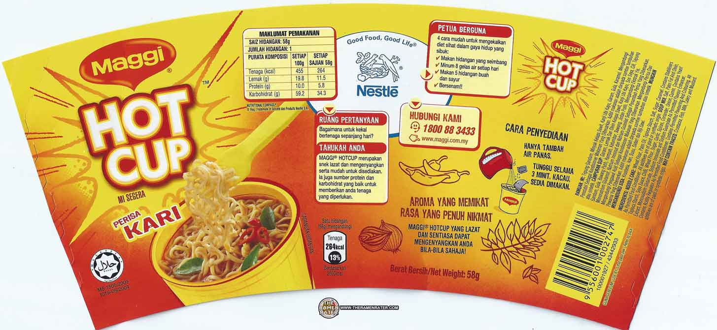 meet the manufacturer 1434 maggi hot cup perisa kari