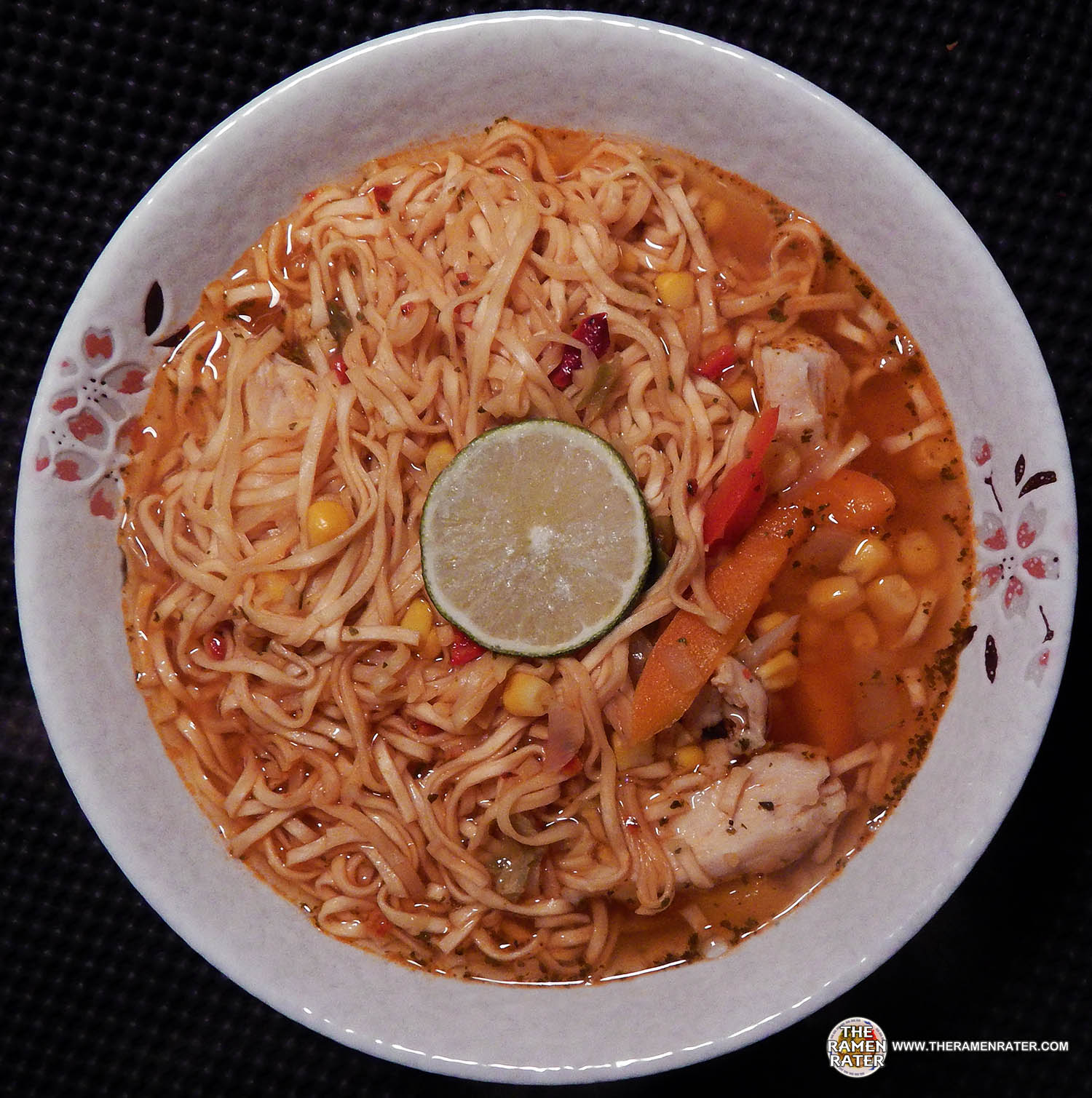 1441: Nissin Souper Meal Chili Picante Chicken With Lime Flavor Ramen ...