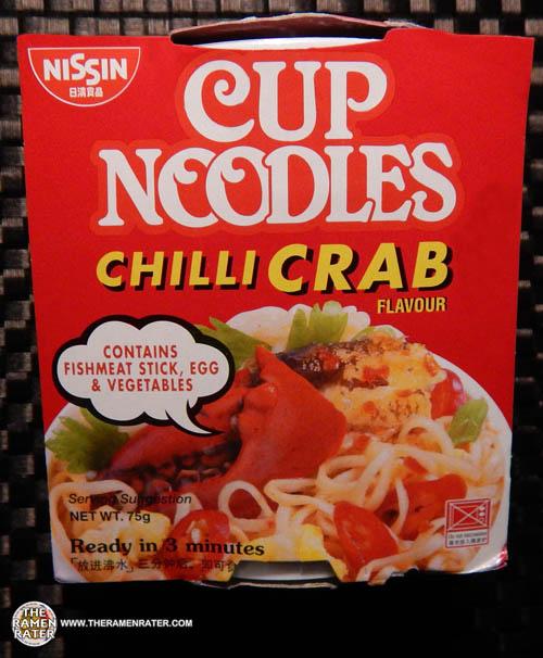 Meet The Manufacturer: #1454: Nissin Cup Noodles Chilli Crab Flavour