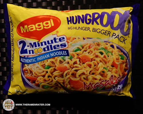 #1543: Maggi 2-Minute Noodles Hungrooo Masala Spicy
