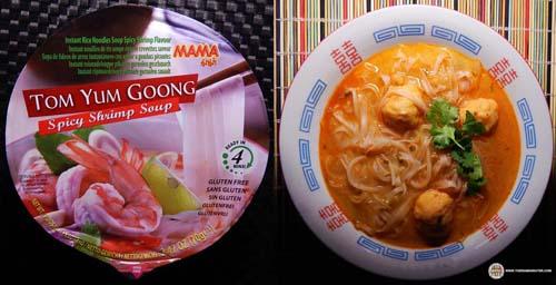 #3:MAMA Instant Rice Noodle Soup Spicy Shrimp Flavour – Thailand - The Ramen Rater - instant rice noodles