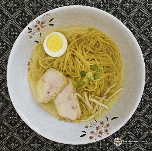 Ajinatori Halal Chicken Shio Ramen - Japan - The Ramen Rater