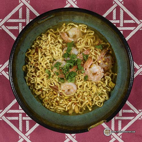 #2327: Nissin Cup Noodles Spicy Lime Shrimp Flavor Ramen Noodle Soup (New Recipe) - United States - The Ramen Rater - instant noodles