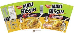Meet The Manufacturer: #2333: Nissin Maxi Sopa Nissin Cuchareable Sabor A Pollo - Mexico - fideos instantanea