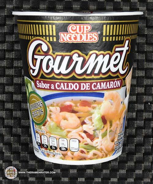 Meet The Manufacturer: #2335: Nissin Cup Noodles Gourmet Sabor A Caldo De Camaron - Mexico - The Ramen Rater - fideos instantanea