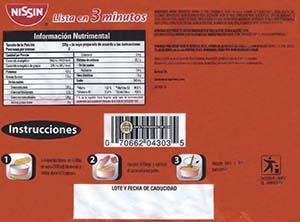 Meet The Manufacturer: #2338: Nissin Sopa Nissin Sabor A Pollo Sopa Instantanea Tipo Ramen - Mexico - The Ramen Rater - chicken noodle