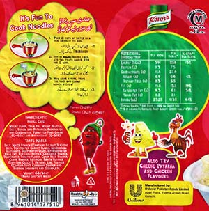 #2346: Knorr Chatt Patta Instant Noodles - Pakistan - The Ramen Rater