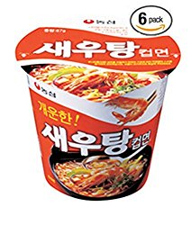 #2356: Nongshim Spicy Shrimp Cup Noodle - South Korea - The Ramen Rater -  instant noodles