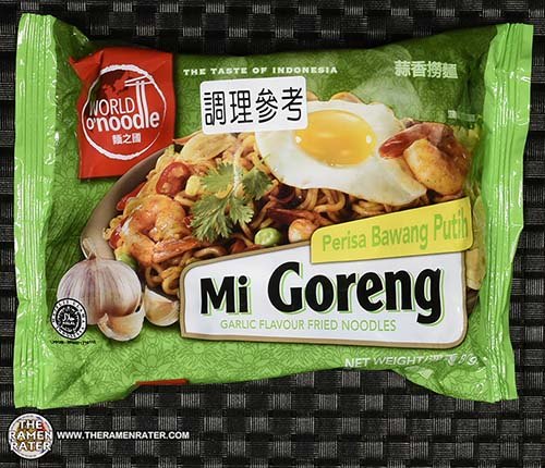 #2374: World O' Noodle Mi Goreng Garlic Flavour Fried Noodles