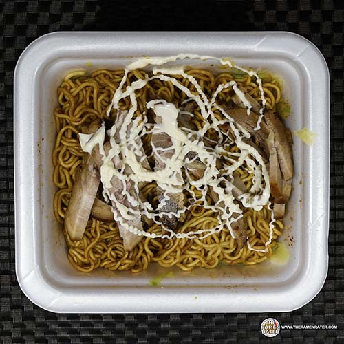 Nissin Yakisoba with Chashu Pork + Mayonnaise