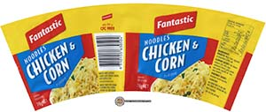 #2349: Fantastic Noodles Chicken & Corn Flavour - Australia - The Ramen Rater - instant noodles