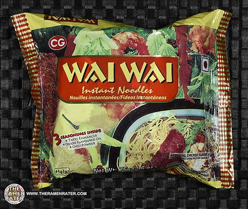 #2360: Wai Wai Instant Noodles Artificial Chicken Flavoured - India - The Ramen Rater Chaudhary