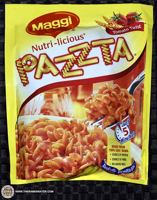 #2402: Maggi Nutri-licious Pazzta Tomato Twist - India - The Ramen Rater - instant noodles