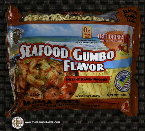 Meet The Manufacturer: #2409: Mama Pat's Seafood Gumbo Flavor Instant Ramen Noodles - United States - The Ramen Rater - instant noodles