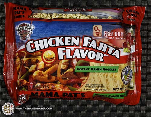 Meet The Manufacturer: #2411: Mama Pat's Chicken Fajita Flavor Instant Ramen Noodles - UUnited States - The Ramen Rater - instant noodles