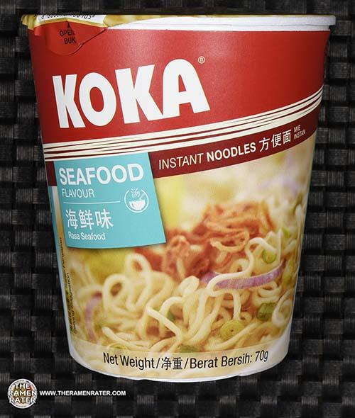 Meet The Manufacturer: #2448: KOKA Seafood Flavor Instant Noodles - Singapore - The Ramen Rater - Tat Hui