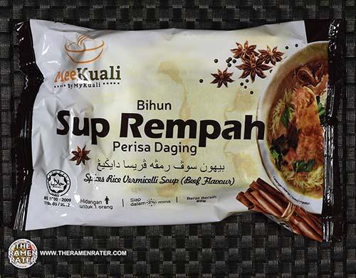 #2430: MeeKuali Bihun Sup Rempah Perisa Daging - Malaysia - The Ramen Rater - rice vermicelli
