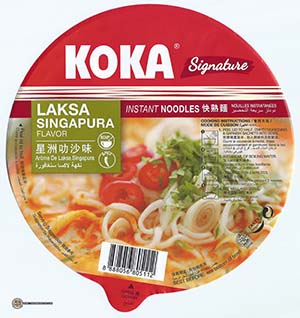 Meet The Manufacturer: #2452: KOKA Signature Laksa Singapura Flavor Instant Noodles - Singapore - The Ramen Rater - Tat Hui