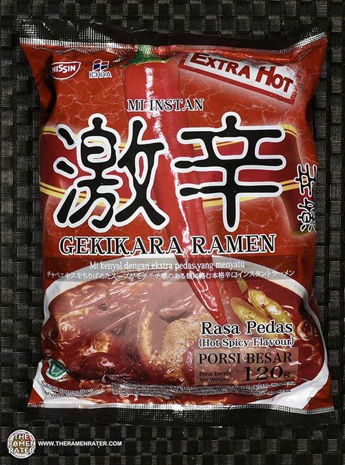 #2463: Nissin Mi Instan Gekikara Ramen Rasa Pedas - Indonesia - The Ramen Rater - instant ramen