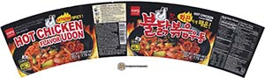 #2464: Wang Extreme Spicy Hot Chicken Flavor Udon - South Korea - The Ramen Rater