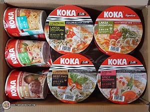 Meet The Manufacturer: KOKA Product Samples - Singapore - The Ramen Rater - Instant Noodles - tat hui