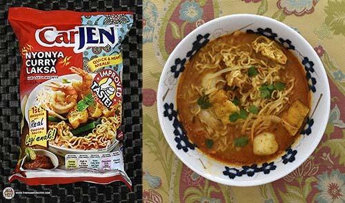 #4: CarJEN Nyonya Curry Laksa - Malaysia - The Ramen Rater - instant noodles