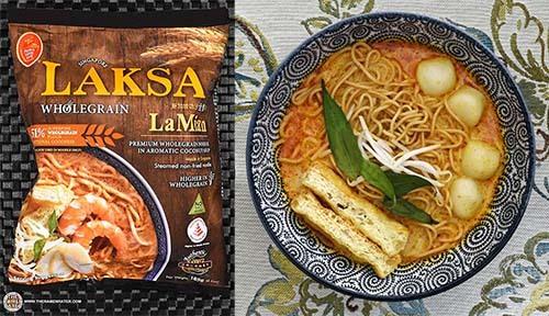 #1: Prima Taste Singapore Laksa Wholegrain La Mian - Singapore - The Ramen Rater - instant noodles