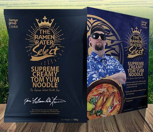 The Ramen Rater Select Supreme Creamy Tom Yum Noodle - The Ramen Rater - instant noodles
