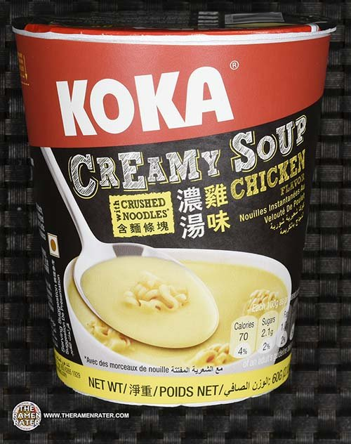 #2499: KOKA Creamy Soup With Crushed Noodles Chicken Flavor - Singapore - The Ramen Rater - instant noodles