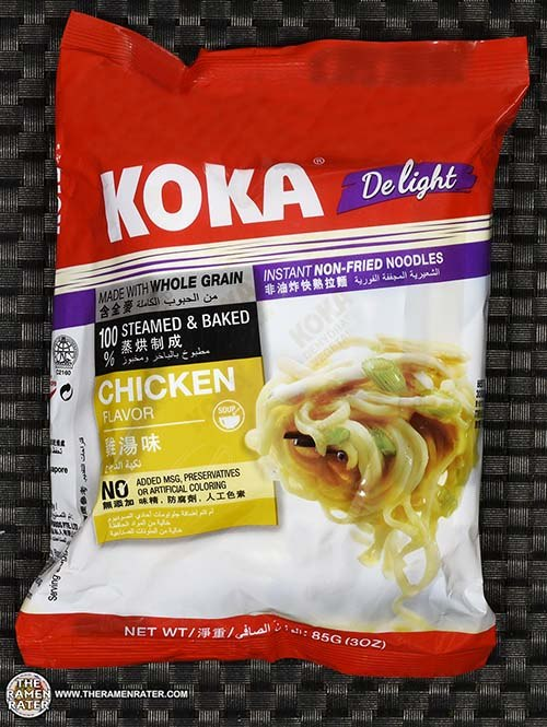 #2506: KOKA Delight Chicken Flavor Instant Non-Fried Noodles - Singapore - The Ramen Rater
