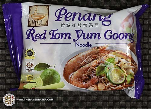 #2510: MyKuali Penang Red Tom Yum Goong Noodle - Singapore - Malaysia - The Ramen Rater - instant noodle