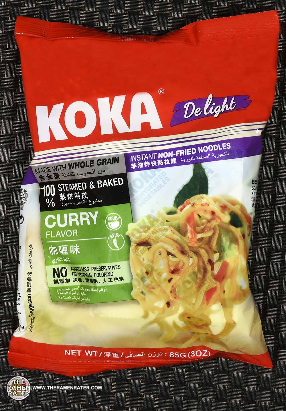 #2535: KOKA Delight Curry Flavor Instant Non-Fried Noodles - Singapore - The Ramen Rater