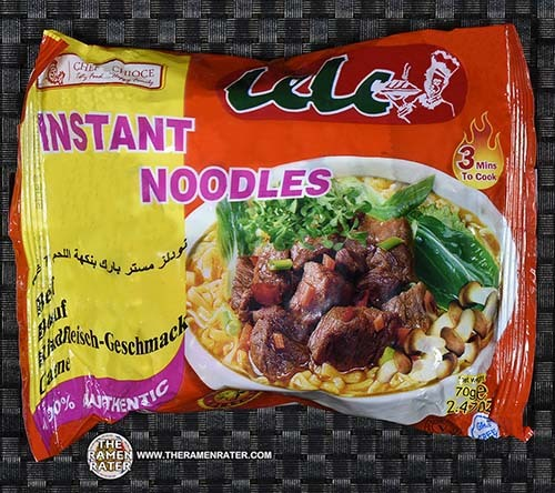 #2436: Lele Instant Noodles Beef - Ghana - The Ramen Rater