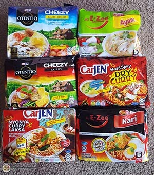 Product Samples From CarJen Of Malaysia - The Ramen Rater - instant noodles