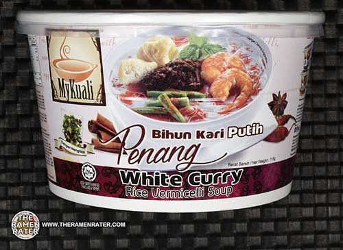 #2552: MyKuali Penang White Curry Rice Vermicelli Soup - Malaysia - The Ramen Rater - instant noodles