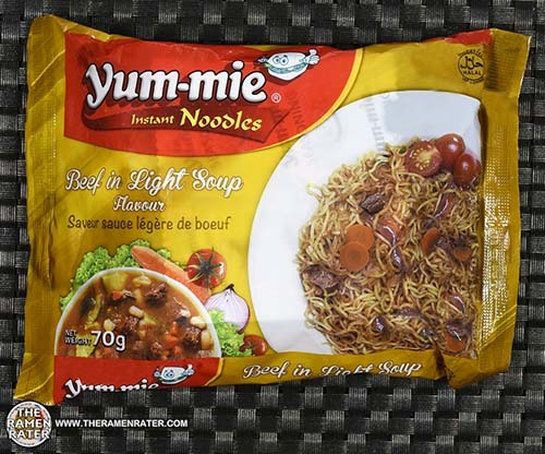 #2554: Yum-Mie Instant Noodles Beef In Light Soup Flavour - Ghana - The Ramen Rater