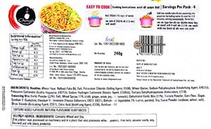 #2556: Ching's Secret Hot Garlic Instant Noodles - India - The Ramen Rater - Desi Chinese