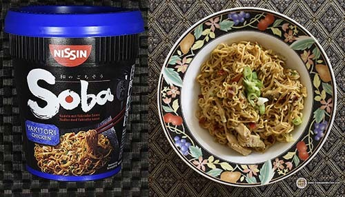 #8 Nissin Soba Nudeln Mit Yakisoba Sauce Yakitori Chicken - Germany - The Ramen Rater - instant noodle cups