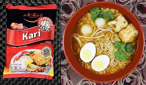 Spiciest #7: Mi E-Zee Perisa Kari Mi Segera – Malaysia - The Ramen Rater's Top Ten Spiciest Instant Noodles Of All Time 2017 Edition
